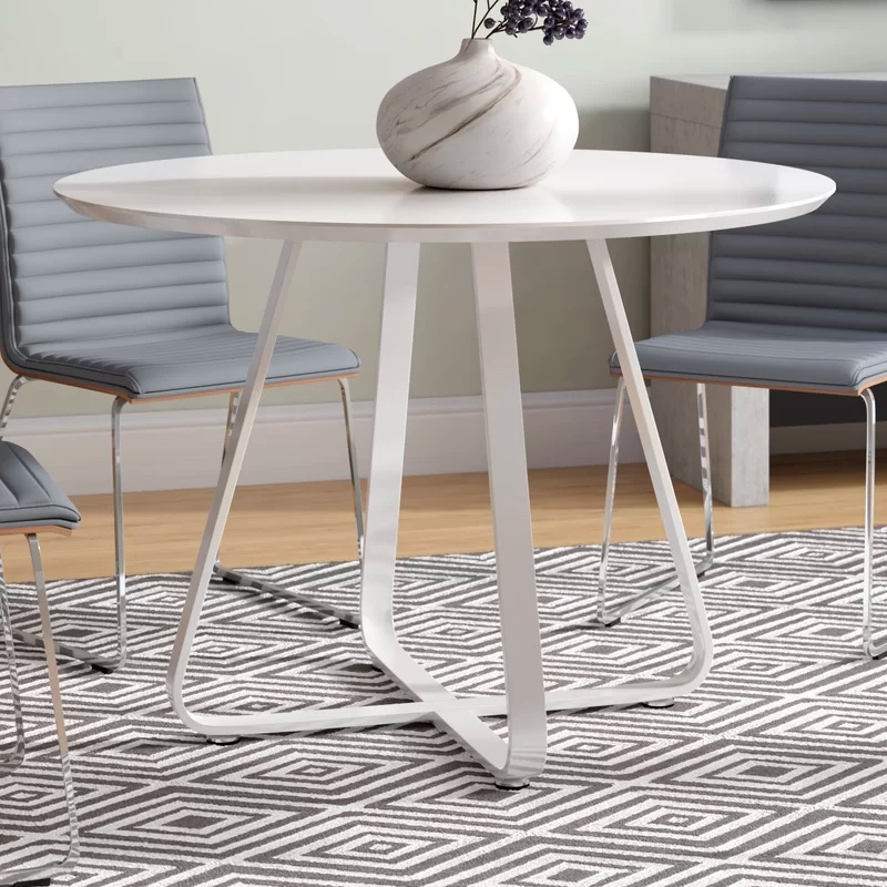 51 Round Dining Tables That Save On, Round White Dining Tables
