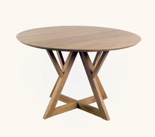 51 Round Dining Tables That Save On, Wood Table Round