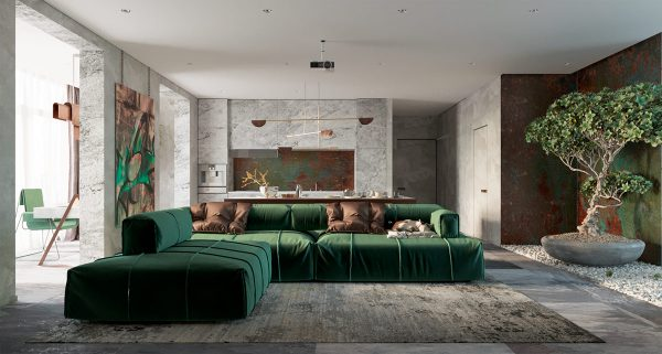 Creative Use Of Copper In Interior Design Obsigen