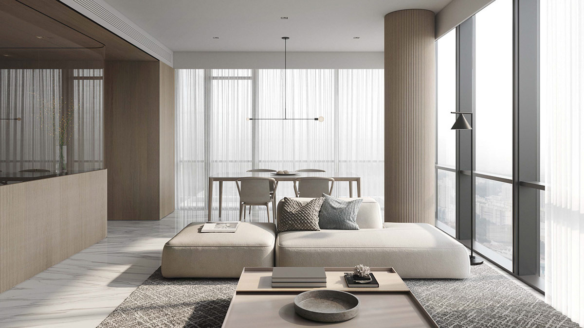 Neutral Modern Minimalist Interior Design 4 Examples That Masterfully Show Us How