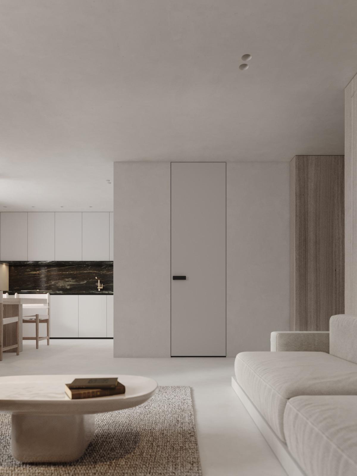 Modern Minimalist Interior Design: Neutral, Modern-Minimalist Interior Design: 4 Examples