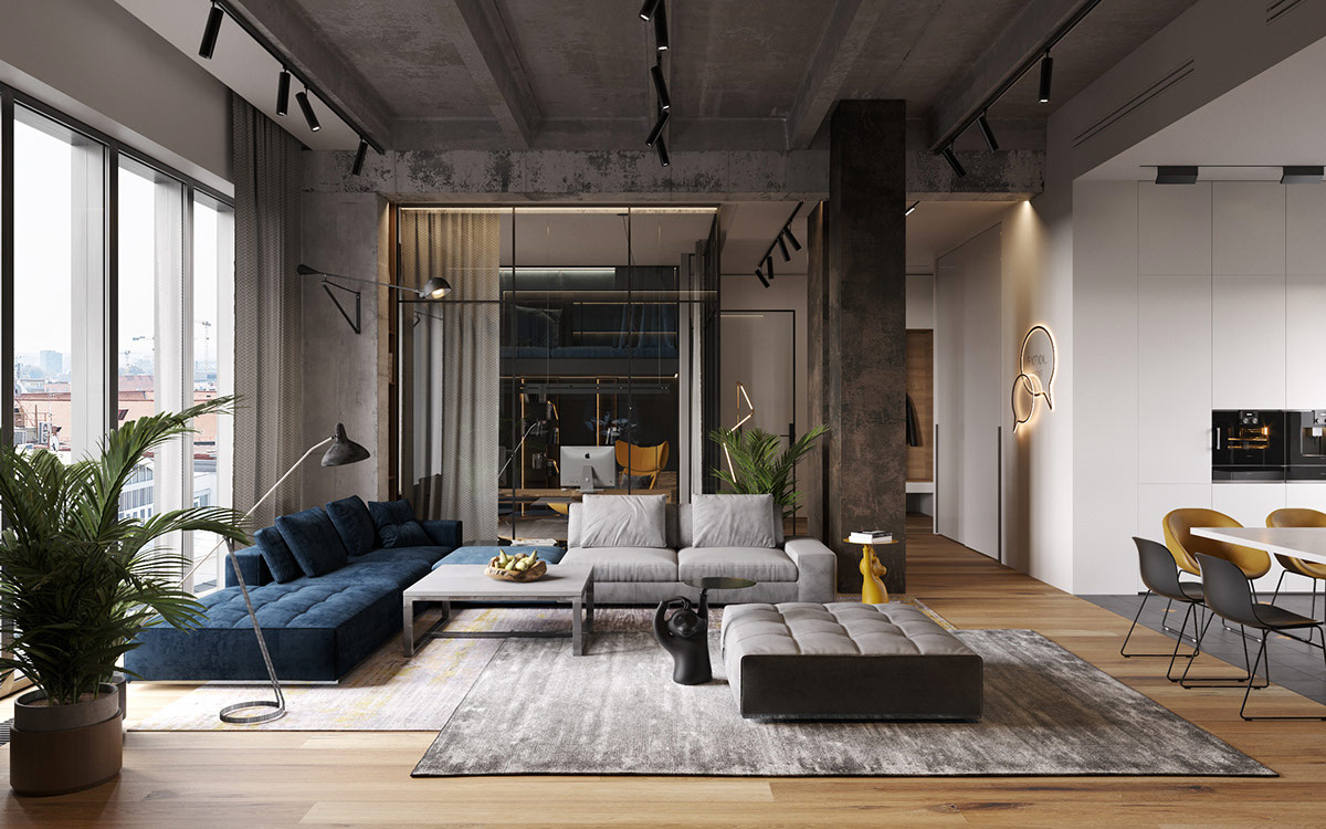 The Merging Of Three Apartments To Make One Amazing Loft