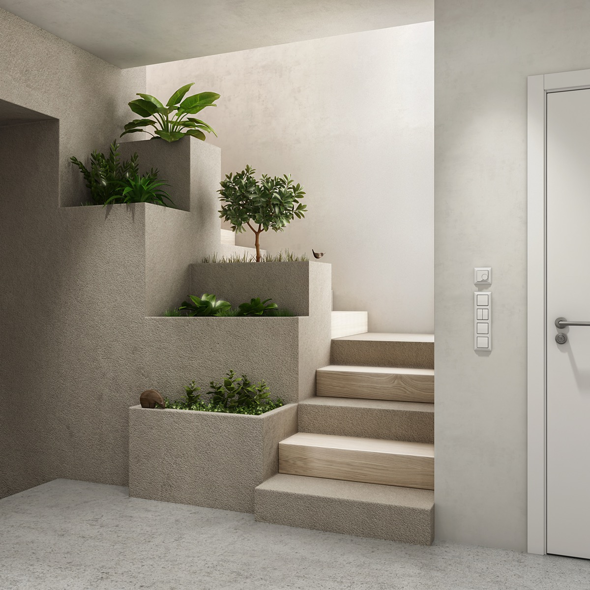 Concrete Stairs Design Ideas Home Stair Picture Exterior: 51 Stunning Staircase Design Ideas