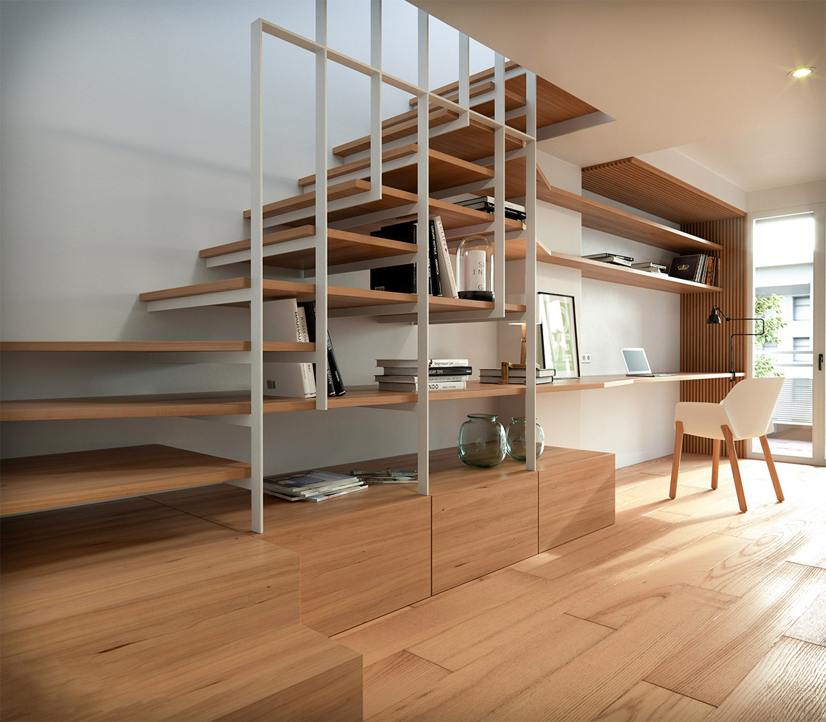 Impressive Stairs Pictures 2 Wood Stair Design Ideas: 51 Stunning Staircase Design Ideas
