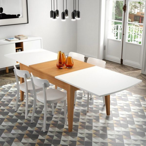 41 Extendable Dining Tables To Maximize, Dining Room Sets With Expandable Table Dimensions