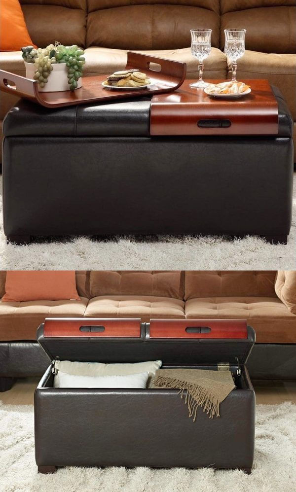 43 Storage Ottomans To Declutter And Organize Your Home