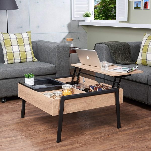 Black Designer Living Room Furniture Coffee Table For Indoor And Outdoor Coffee Tables