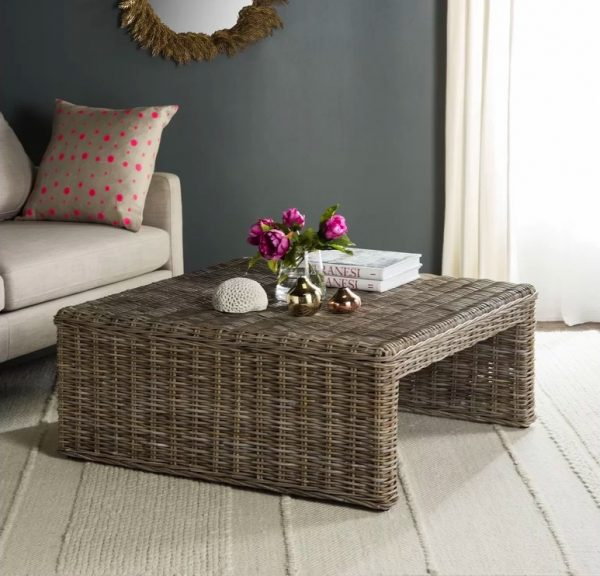51 Square Coffee Tables That Every, How To Decorate A Small Square Coffee Table