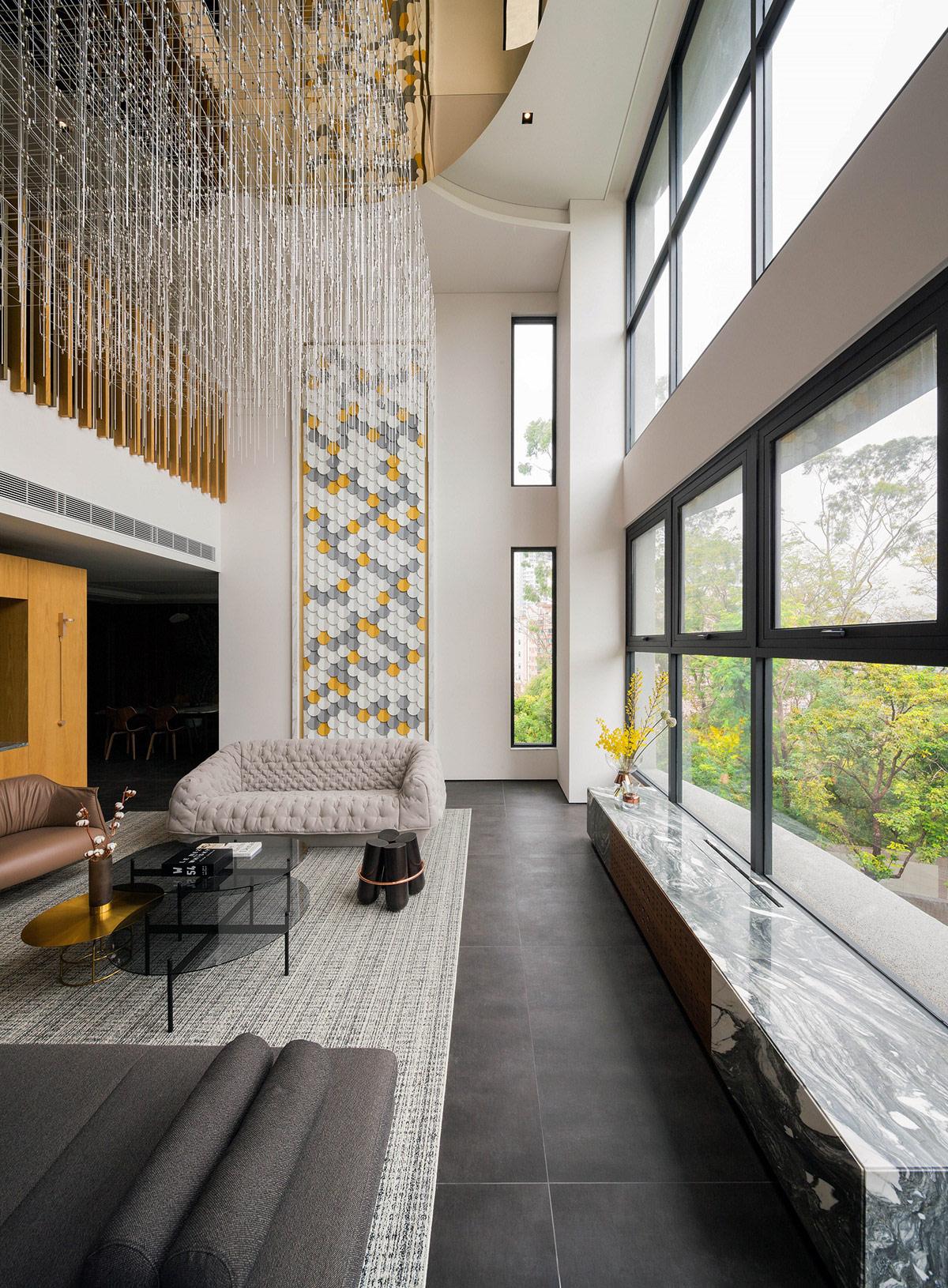 Luxury Living Room Room Design: Simple Luxury Interior With Modern Oriental Elegance