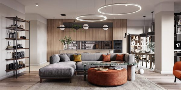 2 Apartments Under 120 Square Meters (1300 Square Feet) With Floor Plans