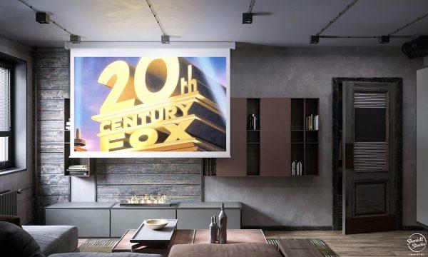 Rustic-Industrial Interior Design Examples