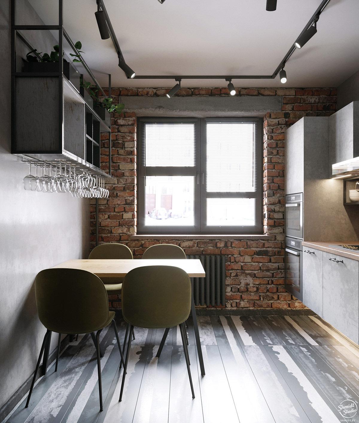 Rustic Industrial Interior Design Examples
