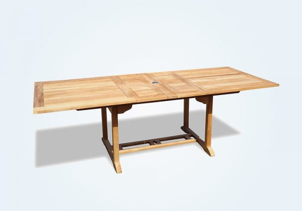 Multi Color Plank Dining Table