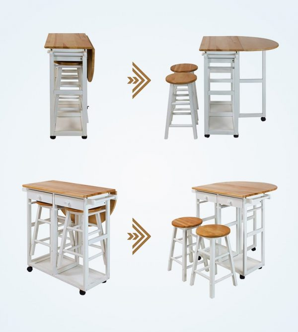 41 Drop Leaf Tables For Small Spaces With Big Style - How To Make A Pull Down Table