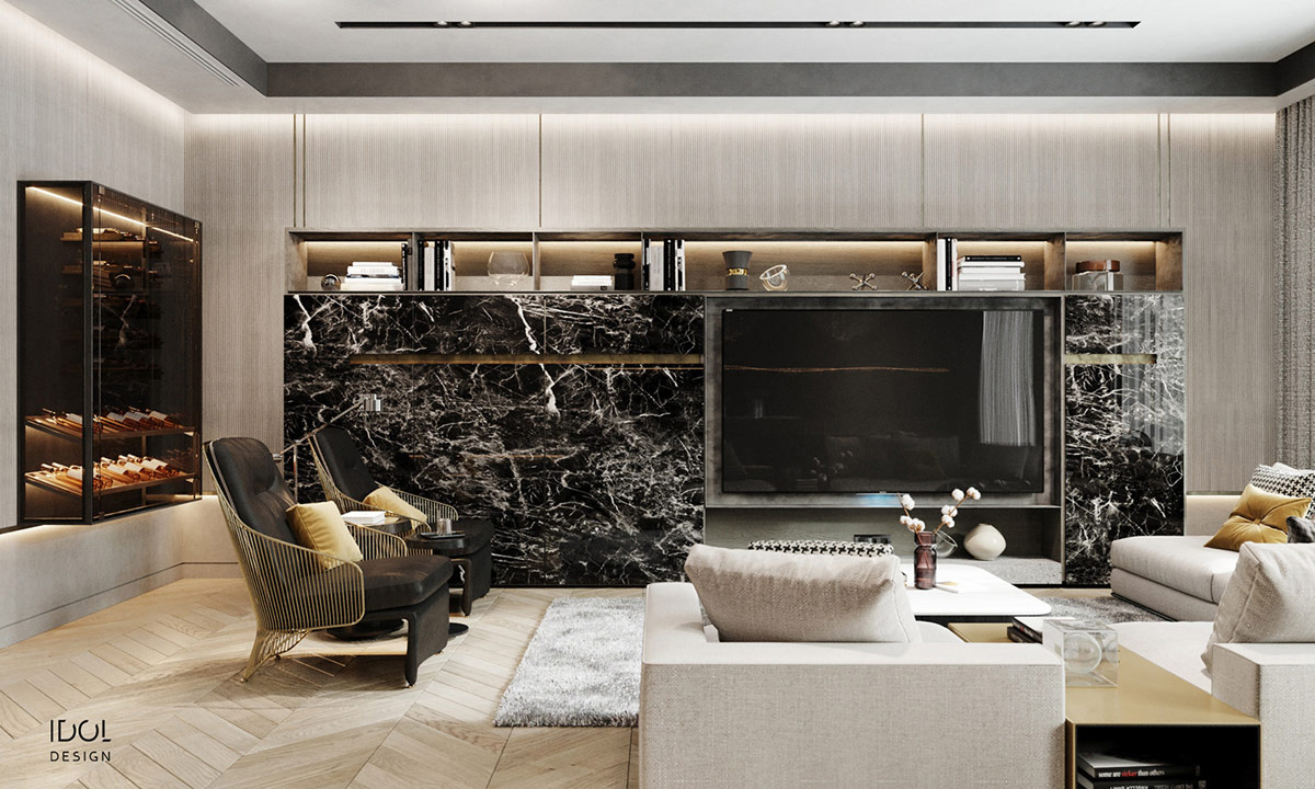 grey and gold living room designs