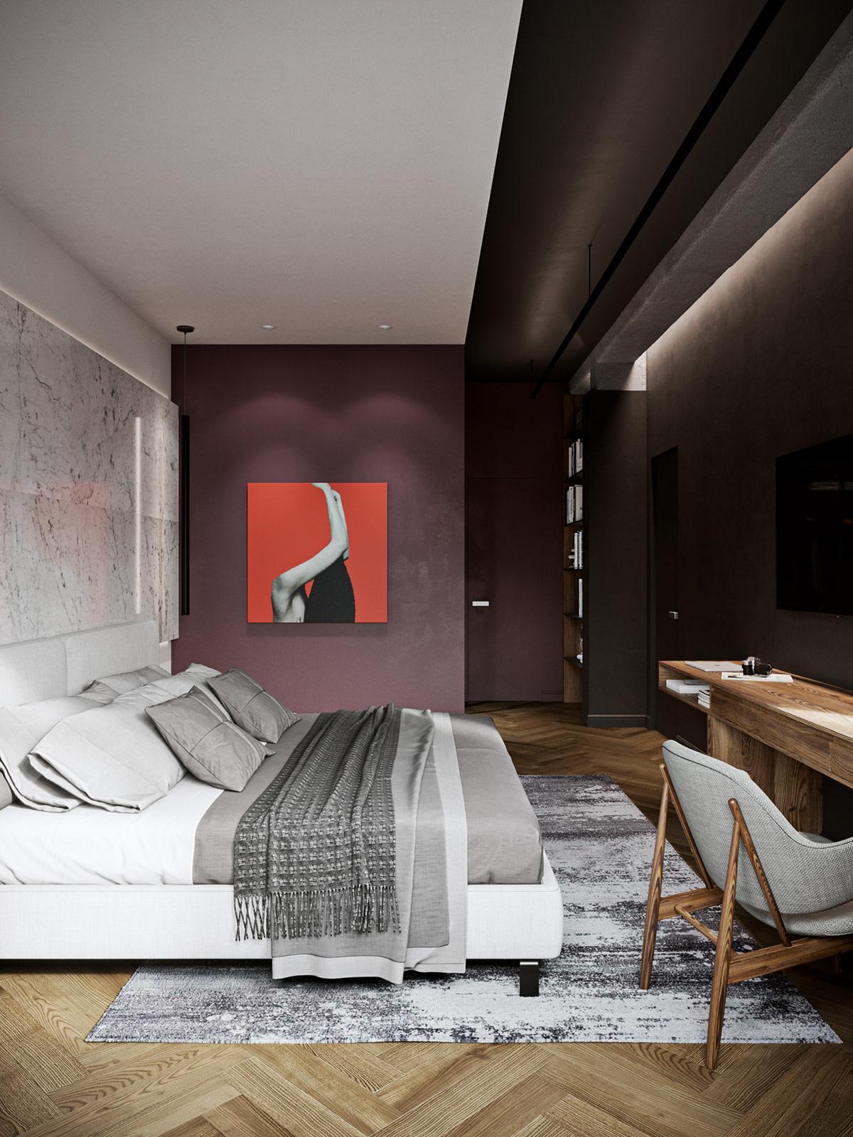 Décoration La Conception De La Maison Moderne Colorée