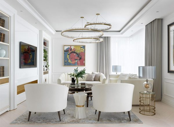 3 Home Interiors That Prominently Feature Art