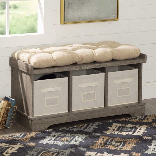 Wondrous 51 Storage Benches To Streamline Your Seating And Storage Squirreltailoven Fun Painted Chair Ideas Images Squirreltailovenorg