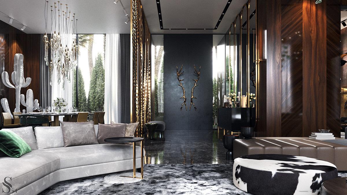 Décoration : Design d\'intérieur marocain moderne de luxe ...