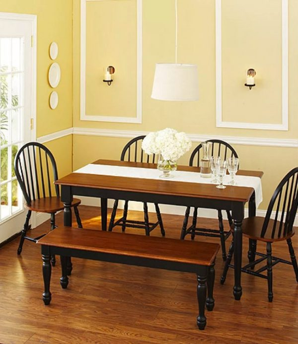 Incredible 51 Dining Benches To Transform And Elevate Your Kitchen Table Squirreltailoven Fun Painted Chair Ideas Images Squirreltailovenorg