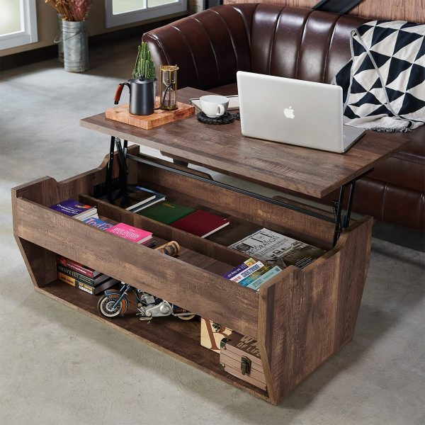 51 Rustic Coffee Tables That Redefine Shabby Chic