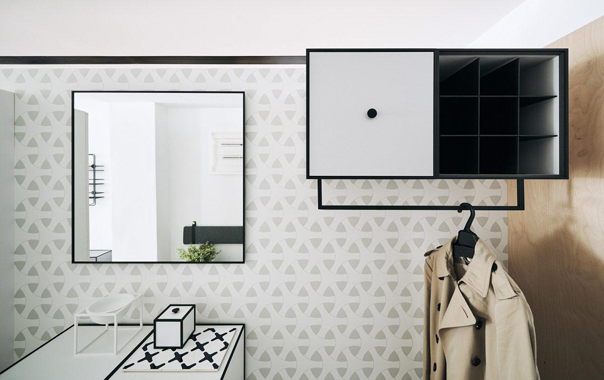 Papier Peint Entree Moderne décoration : 3 maisons inspirées par différentes approches