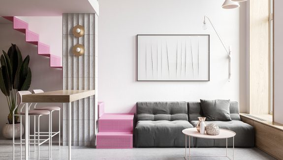 Small Interiors Under 70 Sqm That Will Have You Tickled Pink! [With Plans]