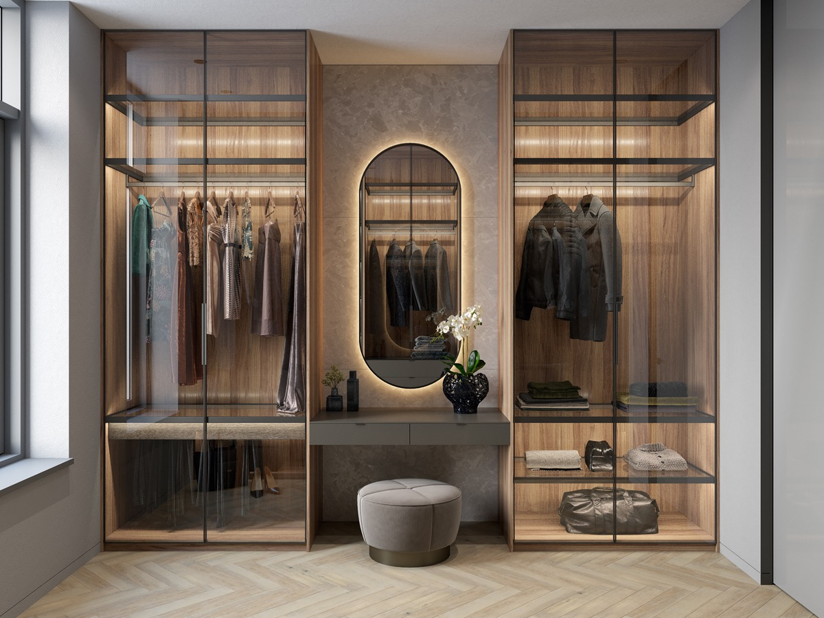 10 Walk In Wardrobes That Will Give You Deep Closet Envy