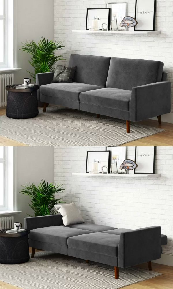Amazing 51 Sofa Beds To Create A Chic Multiuse Space That Guests Theyellowbook Wood Chair Design Ideas Theyellowbookinfo