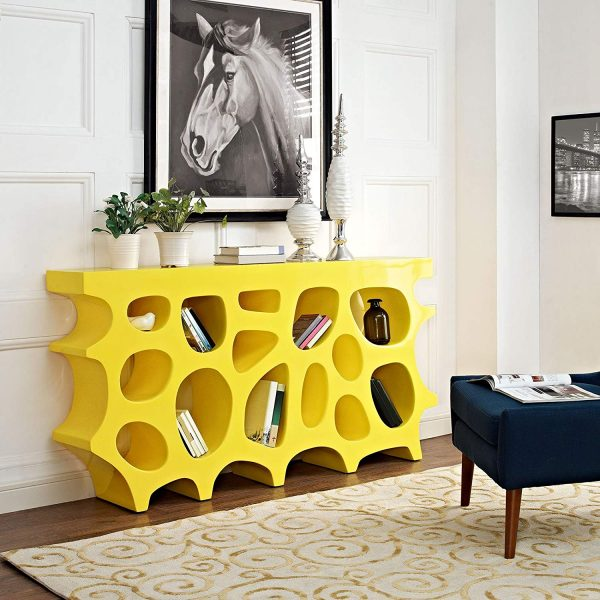 51 Console Tables That Take A Creative Approach To Everyday Storage And Display