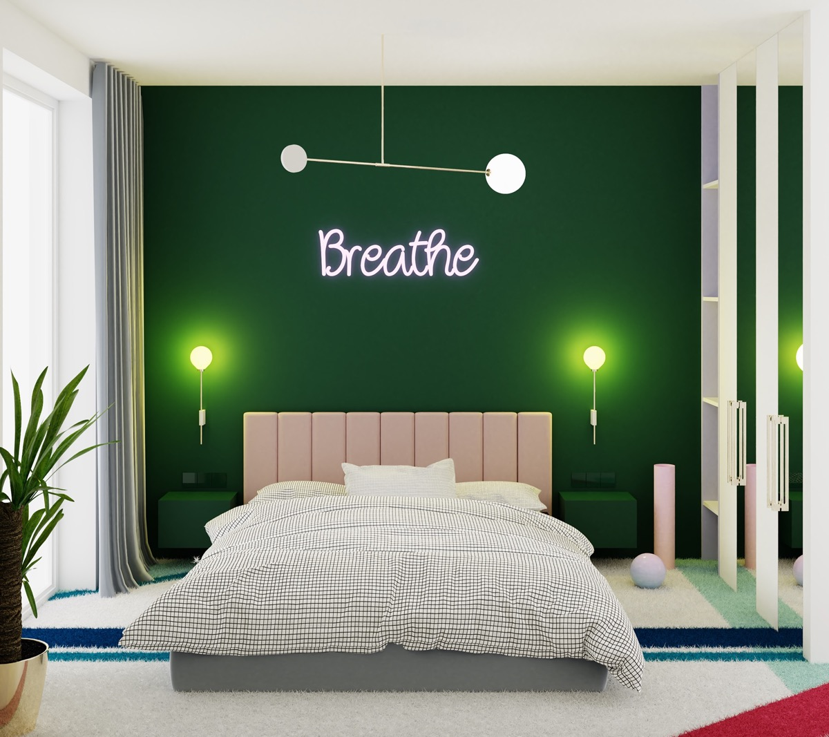 4 Green Bedrooms With Tips And Accessories To Help You Design Yours