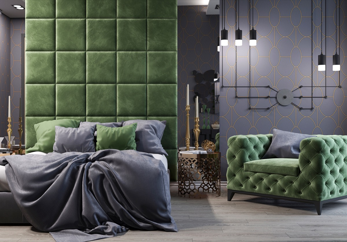 32 Green Bedrooms With Tips And Accessories To Help You Design Yours