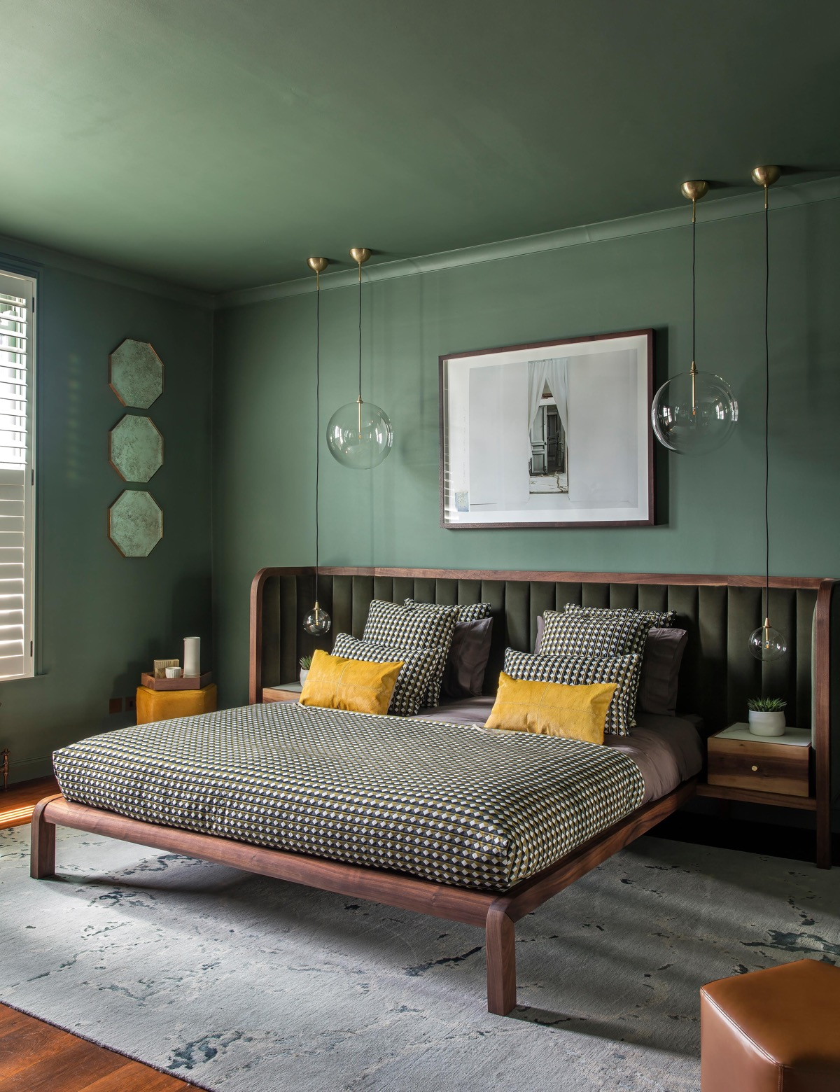 Image of: 51 Green Bedrooms With Tips And Accessories To Help You Design Yours
