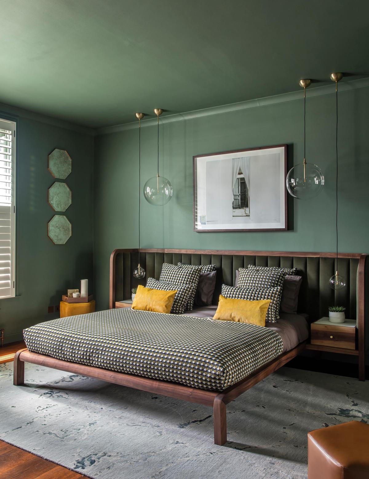 Décoration : 16 chambres vertes avec des conseils et des