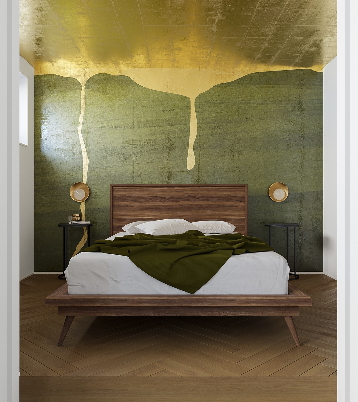 Picture of: 51 Green Bedrooms With Tips And Accessories To Help You Design Yours