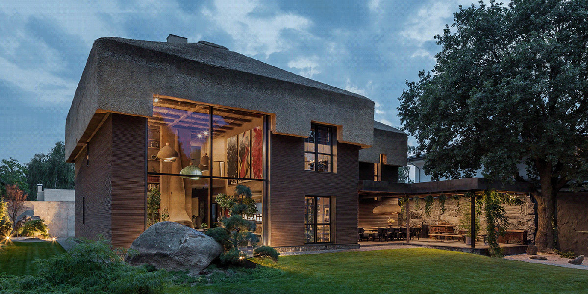 Decoration Une Maison D Architecte Qui Fusionne Des Ethos