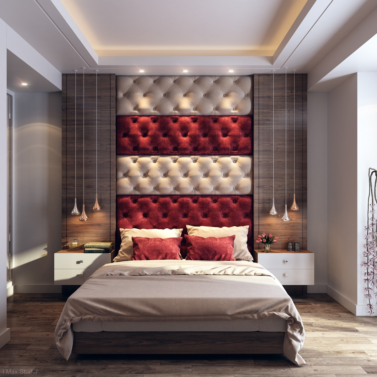 5 Red Bedrooms With Tips And Accessories To Help You Design Yours