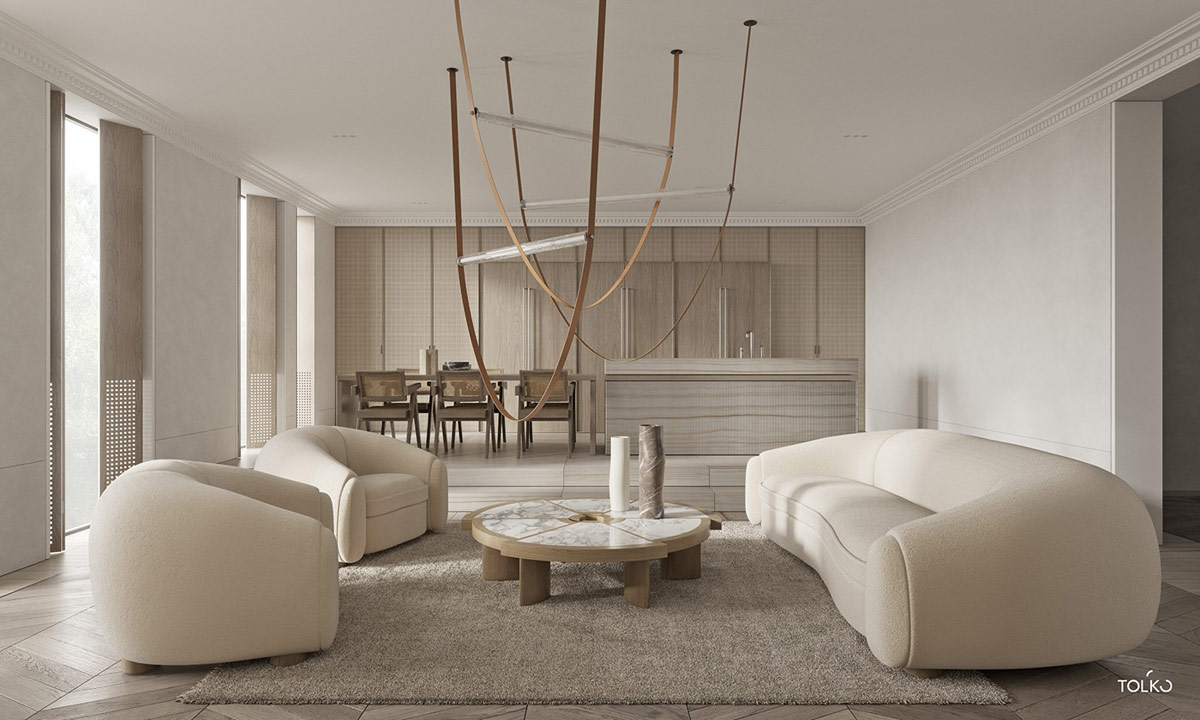 Bunte Moderne Home Konzept Verleiht Jedem Raum Individualität