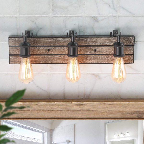 51 Bathroom Vanity Lights To Rejuvenate, Bathroom Vanity Light Globes