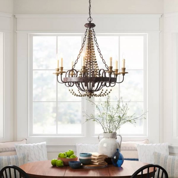 51 Dining Room Chandeliers With Tips On, Rustic Dining Room Lighting