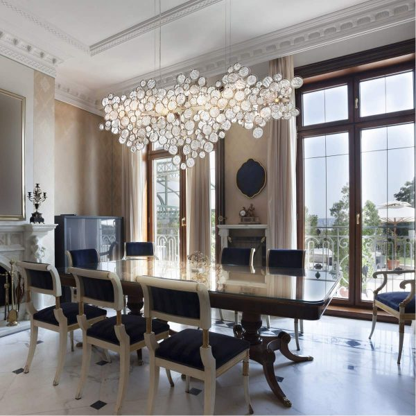 51 Linear Pendants And Chandeliers For