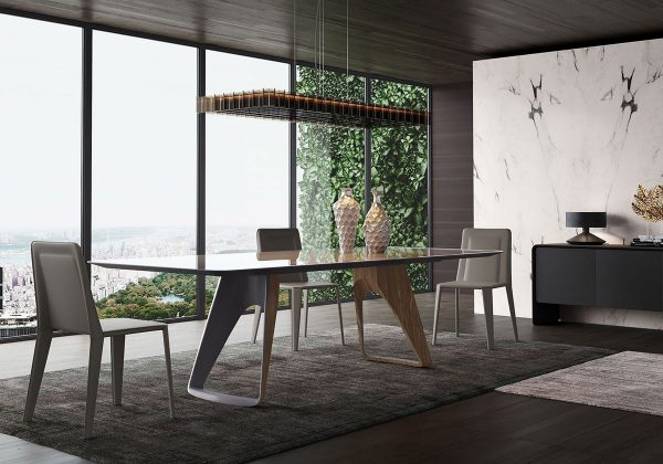 51 Glass Dining Tables That Create An Upscale Atmosphere For Every Meal Architectural Cad Drawings