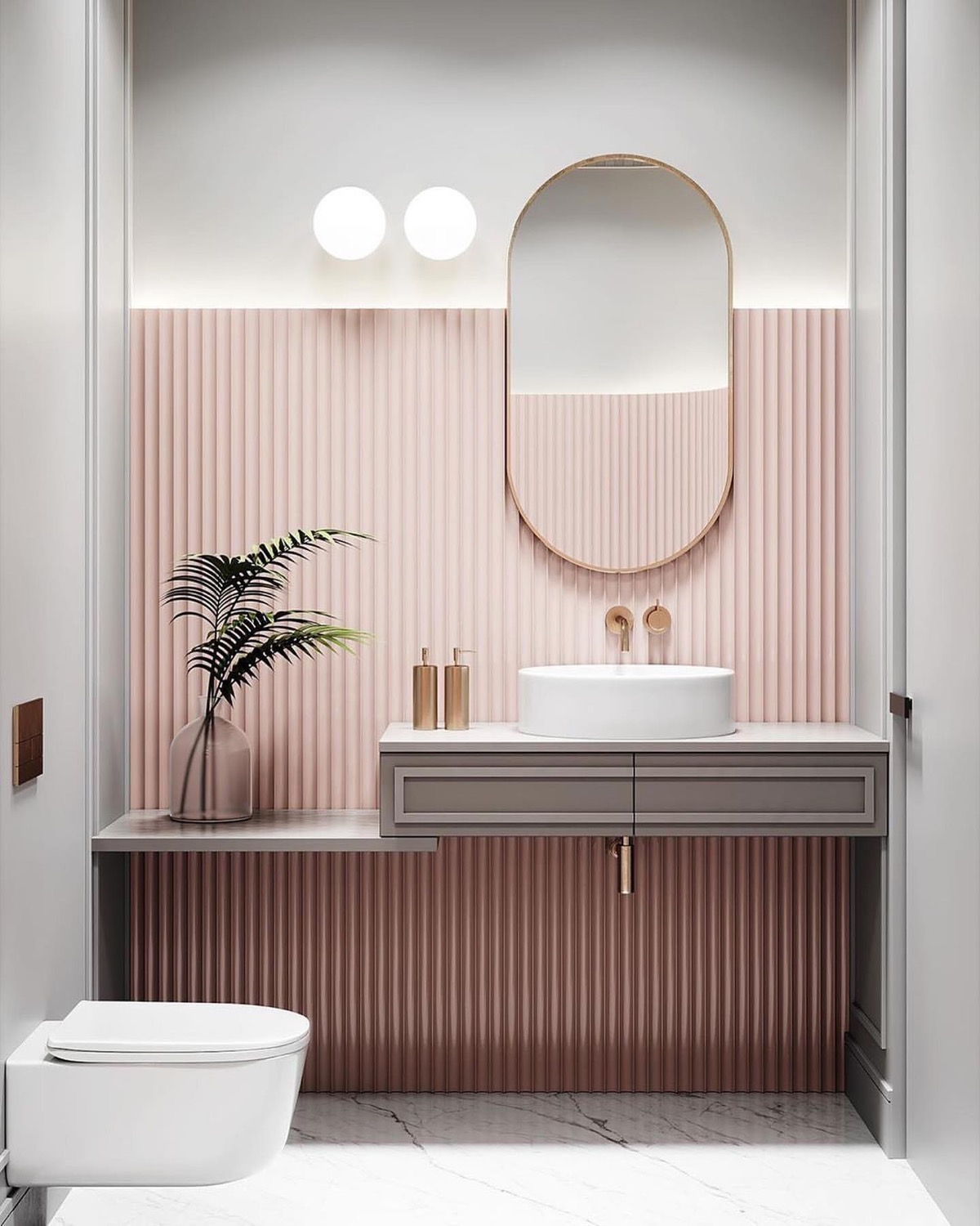 11 Pink Bathrooms With Tips, Photos And Accessories To Help You