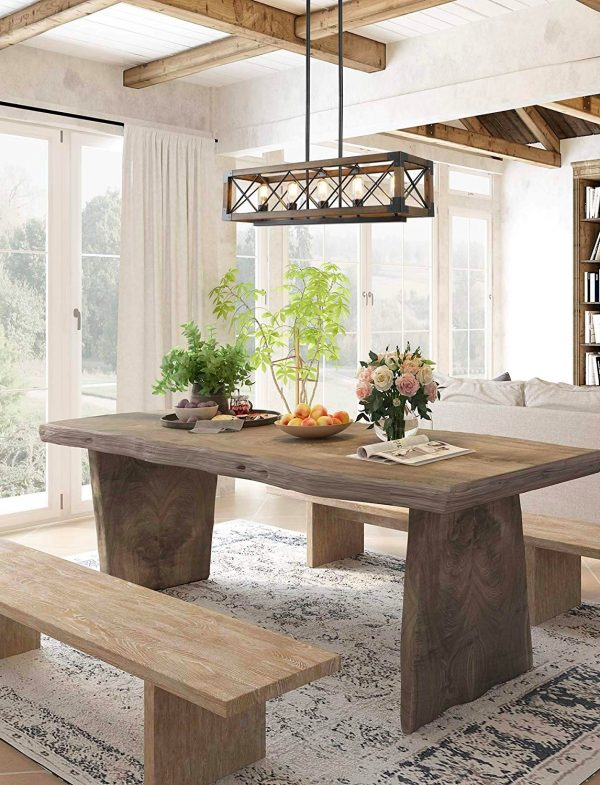 51 Dining Room Chandeliers With Tips On, Wood Chandelier Dining Room