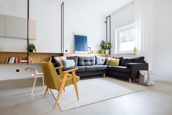 Bright Apartments Styled With Mid Century Modernism