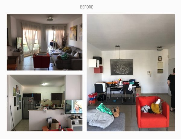 Cozy Modern Home Renovation In Grey, Brass & Blush (Before & After Pics)