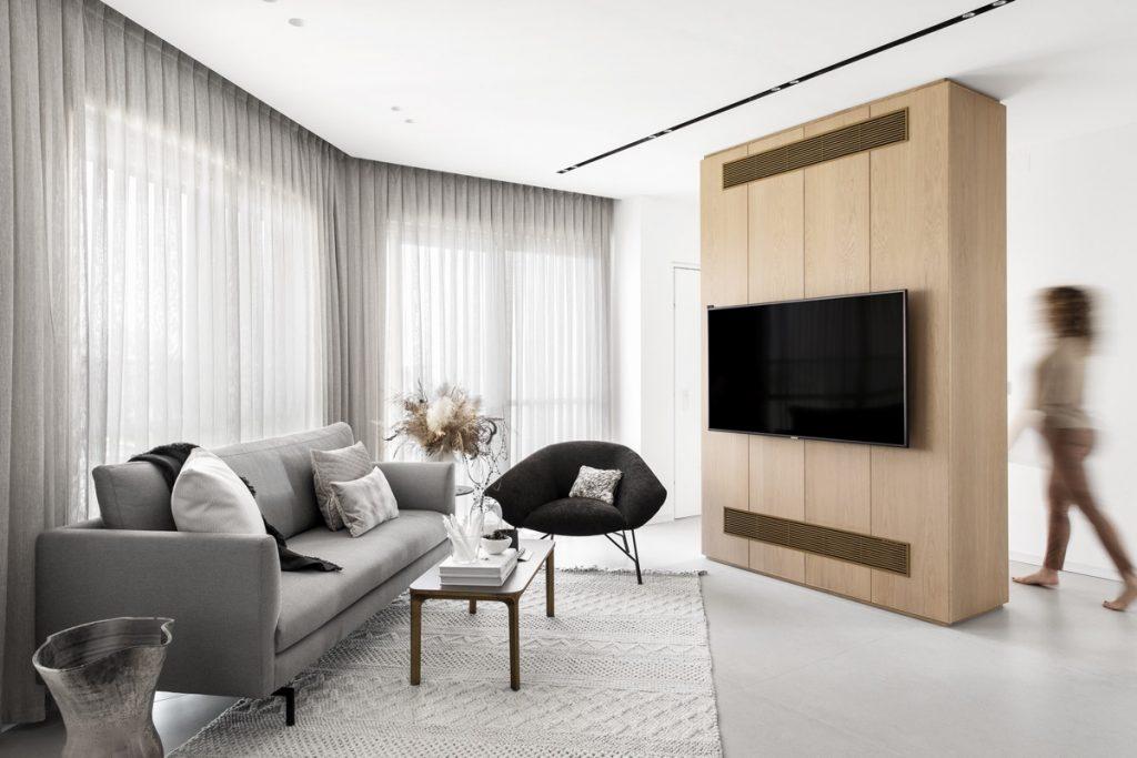 Cozy Modern Home Renovation In Grey