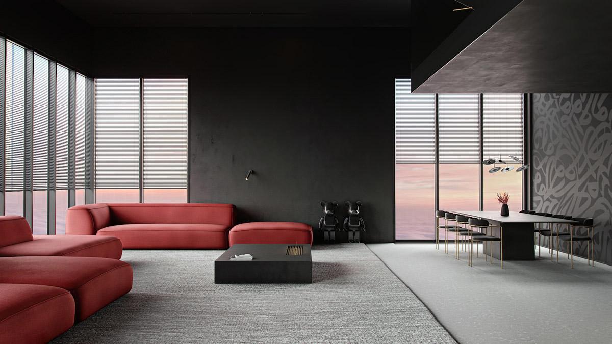 Duo De Couleurs Déco décoration : un duo d'intérieurs de luxe délicieusement
