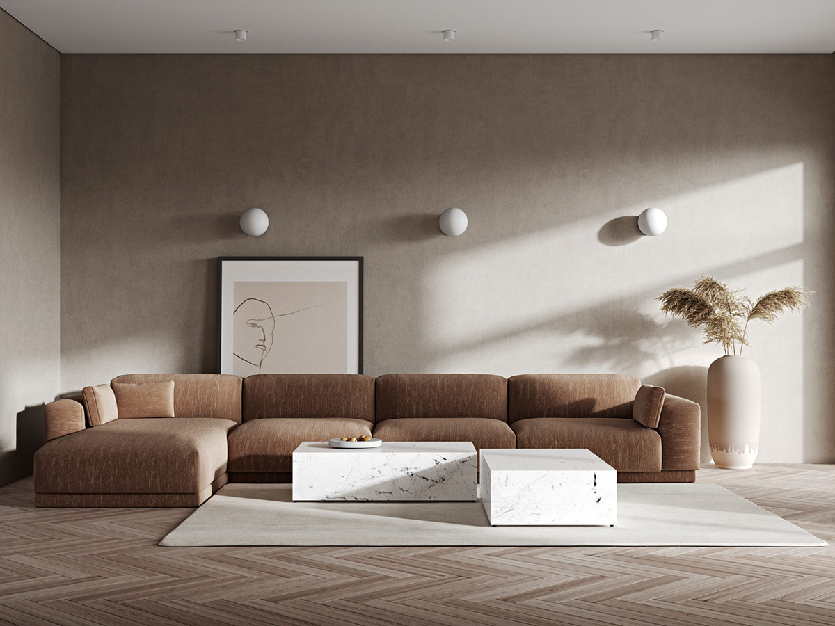 Rote Akzente Home Interieur Geformt, Mit EXKLUSIVER Vorrichtung & Zubehörteile