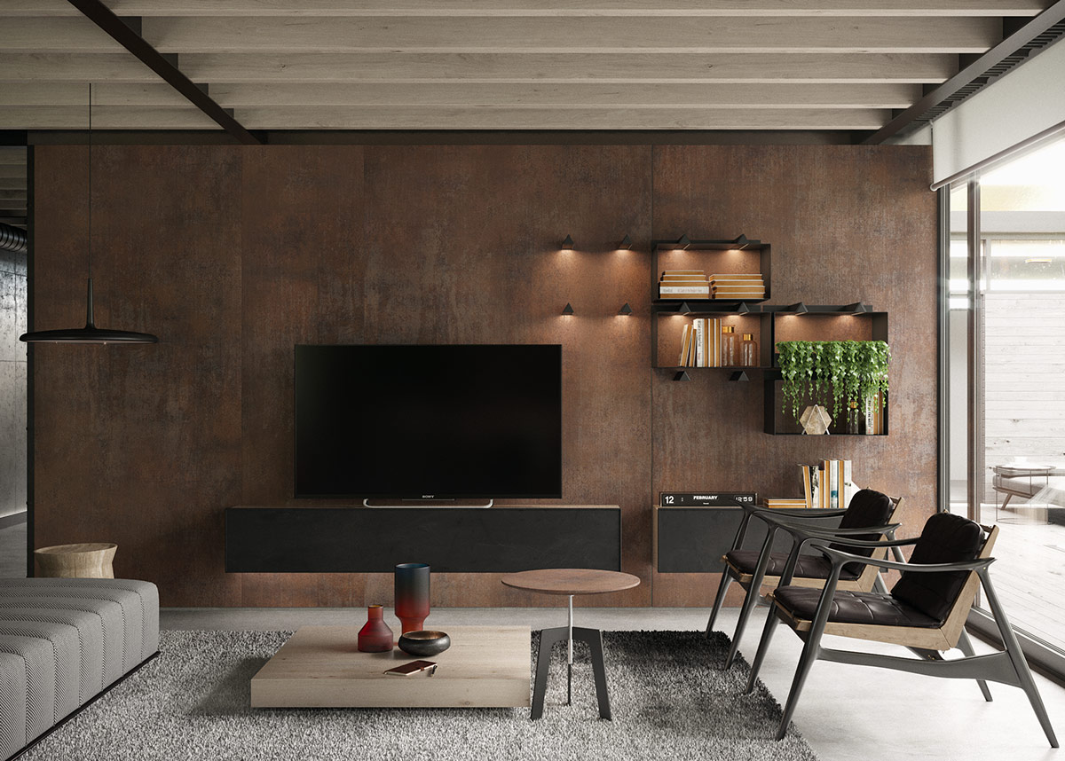 Three Enviable Industrial Style Interiors